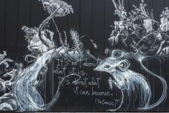 It´s about what it can become. (Lens Daemmi) Tags: street streetart art graffiti 2019 bülowstrase urban museum facade nation herakut snikarts