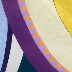 colorful curves (msdonnalee) Tags: muraldetail abstract abstrakt abstracto abstrait curve