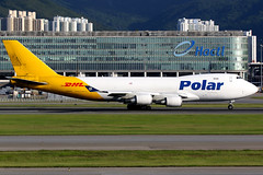 Polar Air Cargo | Boeing 747-400F | N452PA | Hong Kong International (Dennis HKG) Tags: polar polaraircargo pac po aircraft airplane airport plane planespotting cargo freighter canon 7d 100400 hongkong cheklapkok vhhh hkg boeing 747 747400 boeing747 boeing747400 747400f boeing747400f dhl n452pa