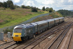 43192 + 43155 (1) (ANDY'S UK TRANSPORT PAGE) Tags: trains chesterfield gwr greatwesternrailway class43