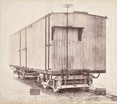 Mexico Ralways - Mexican Railway Company - Covered goods wagon (Gloucester Railway and Carriage Works, August 1889) (HISTORICAL RAILWAY IMAGES) Tags: grcw gloucester train railways mexico wagon