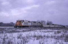 Frigid (ac1756) Tags: soo sooline troutlake train911 911 michigan mp447 gp35 727 emd