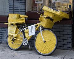 Success Story, Auburn Ave., Atlanta, GA (DayBreak.Images) Tags: city atlanta urban bicycle yellow georgia canondslr sweetauburn lightroom canoneflens successstory