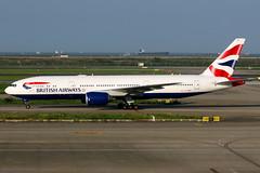 British Airways | Boeing 777-200ER | G-YMMH | Shanghai Pudong (Dennis HKG) Tags: aircraft airplane airport plane planespotting oneworld canon 7d 100400 london heathrow egll lhr britishairways ba baw speedbird boeing 777 777200 boeing777 boeing777200 777200er boeing777200er gymmh