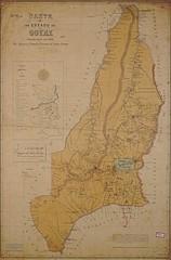 Mapa de Goiás, 1902 (Arquivo Nacional do Brasil) Tags: goiás map mapasantigos maps mapa regiãocentrooeste arquivonacional arquivonacionaldobrasil nationalarchivesofbrazil nationalarchives