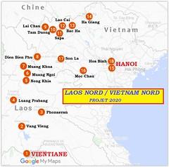 2020-Projet Laos Nord-Vietnam Nord (jbeaulieu) Tags: cambodge laos vietnam cartes projet 2020