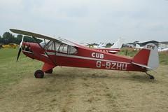 G-BZHU (IndiaEcho) Tags: light fly airport general britain aircraft aviation air aeroplane civil airfield turweston england canon eos buckinghamshire in 2019 1000d sport wag trainer aero gbzhu