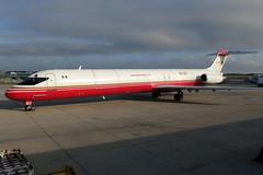 XA-UXI  Aeronaves TSM MD-82F at KCLE (GeorgeM757) Tags: xauxi aeronavestsm aeronavestsmcom md82f mcdonnelldouglas maddog aircraft aviation airport kcle clevelandhopkins georgem757 canons100 freighter cargo mexico n453aa