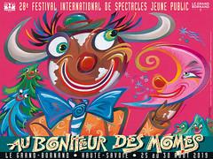 Affiche Festival Au Bonheur des Mômes - 2019