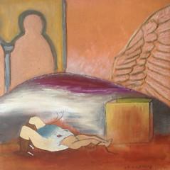 L'enfer (Christophe vd Impe) Tags: enfer hell peinture painting pintura french artist aile démons cube surrealism surrealist surréalisme surréaliste