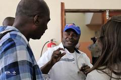 World Bank delegates visit IITA-Kalambo (IITA Image Library) Tags: dg sanginga facilities kalambo iita