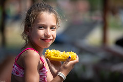 (slezo) Tags: portrait girl child kid bokeh dof face smile smiling canoneos6dmarkii corn