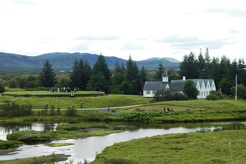 Iceland Thingvellir Church