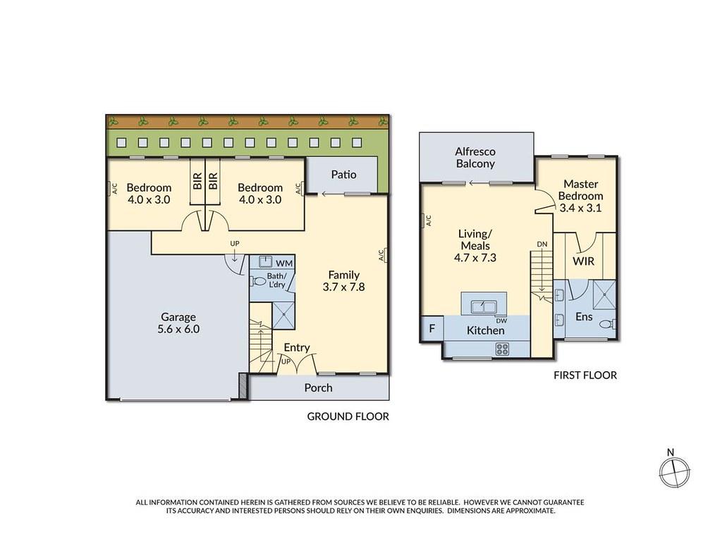 3/137 Blackburn Road floorplan