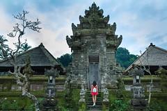 Bali (Margarita Genkova) Tags: bucketlist travel indonesia door green landscape temple bali
