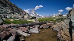 Matterhorn (ivoräber) Tags: matterhorn zermatt sony switzerland schweiz systemkamera swiss suisse mountain alps riffelsee riffelberg loxia 21mm zeiss loxia2821