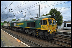 No 66564 14th Aug 2019 Ipswich (Ian Sharman 1963) Tags: no 66564 14th aug 2019 ipswich class station engine railway rail railways railfreight train trains freightliner geml great eastern mainline suffolk 66 diesel