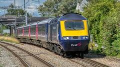 Class 43, 43063 (AreKev) Tags: firstgreatwestern gwr 43063 class43 britishrailclass43 intercity125 highspeedtrain hst britishrailengineeringlimited greaterwestern greatwesternrailway southwalesmainline patchwayrailwaystation railwaystation patchway bristol southgloucestershire gloucestershire southwestengland england uk nikond7100 nikon d7100 sigmaartlens sigma24105mmf4dghsmart sigma 24105mm 24105mmf4dghsm aurorahdr2019 hdr aurorahdr