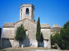 Santa Fe de Calonge – Calonge de Segarra (Manel i Pilar) Tags: arquitectura edifici església romànic