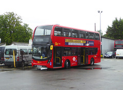 GAL EH313 - YW19VPE - MB ORPINGTON BUS GARAGE - WED 14TH AUG 2019 (Bexleybus) Tags: goahead go ahead london mb orpington bus garage farnborough hill green street kent br6 adl dennis enviro 400 mmc eh313 yw19vpe tfl route nis not in service