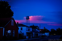 Water tower town (abbeygailc95) Tags: sunsets watertowertown watertower farmcontry smalltown smalltownusa