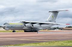 lyushin Il-76MD Ukrainian Air Force 76683 (Clément W.) Tags: lyushin il76md ukrainian air force 76683 egva ffd