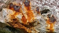 Rostiges Eisen im Fels (Sanseira) Tags: fels rost eisen ammertal peissenberg