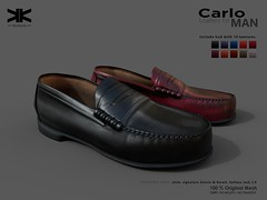 Carlo :: Loafers Man :: 10 Colors ({kokoia}) Tags: carlo kokoia shoes male man loafers slink signature belleza jake gianni casual avatar 3d mesh classic mocasines castellanos zapato hombre clasico elegante secondlife