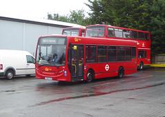 GAL 161 - YX60FVD - MB ORPINGTON BUS GARAGE - WED 14TH AUG 2019 (Bexleybus) Tags: goahead go ahead london mb orpington bus garage farnborough hill green street kent br6 adl dennis enviro 200 161 yx60gvd tfl route nis not in service