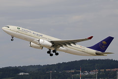 TC-OCO ZRH 05.08.2019 (Benjamin Schudel) Tags: tcoco saudia onur air zrh lszh zurich international airport airbus a330200