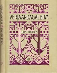 boekband, cover, Einband onbekend (aaldersa) Tags: elzabeth couperus verjaardagalbum gedachten uitg veen amsterdam 1987 bij 100jarig bestaan boekband is herdruk 1924