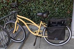 August 10: Parked bike