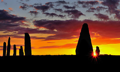 Brodgar sunset (images@twiston) Tags: sunset ringofbrodgar brodgar neolithic henge stonecircle stenness orkney silhouette scotland standing stones megalith prehistoric stoneage atmospheric landscape imagestwiston highlands islands farnorth brogar sky cloud clouds unesco worldheritagesite nisi nisifilters gnd neutraldensity reversegrad grad