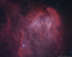 IC2944 in Ha and OIII (Haim Huli) Tags: ic2499 running chicken nebula stars universe apod astronomy astrophoto astrophotography astrophotographer nightsky nightphotography skynight emission space cosmos