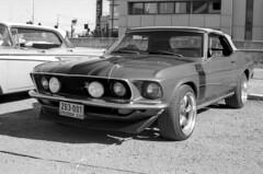 Ford Mustang (Ilya.Bur) Tags: chinon cm3 pancolar 50mm f18 fujifilm acros 200 caffenolcl vintage film bw homemadesoup
