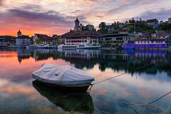 The boat @ Schaffhausen