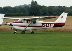 N974SF (wiltshirespotter) Tags: wellesbournemountford cessna 172b skyhawk