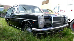 Mercedes /8 Hearse (vwcorrado89) Tags: mercedes 8 hearse benz mercedesbenz italy estate station wagon leichenwagen w114 w115 w 114 115 rust rusty abandoned wreck old car