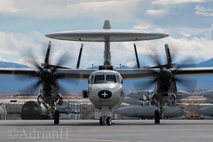 E2 Hawkeye (AdrianH Photography) Tags: jets nikon aviation aeroplanes fallon