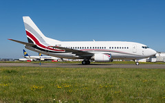 AirX_B735_9HYES_BRU_JUN2019 (Yannick VP) Tags: civil commercial passenger pax transport aircraft aeroplane airplane airliner jet jetliner charter airx boeing 737 b737 classic 737500 b735 9hyes legend brussels airport bru ebbr belgium be europe eu june 2019 airside platform taxi taxiway twy j aviation photography planespotting airplanespotting