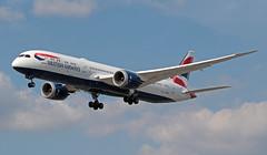 G-ZBKL EGLL 16-07-2019 British Airways Boeing 787-9 Dreamliner CN 38628 (Burmarrad (Mark) Camenzuli Thank you for the 19.8) Tags: gzbkl egll 16072019 british airways boeing 7879 dreamliner cn 38628