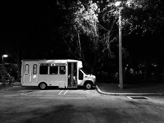 Patches & Sewing (Harley Mitchell) Tags: westpalmbeach bus vehicle nature blackandwhite