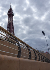 Blackpool. . . (CWhatPhotos) Tags: day blackpool lancs lancashire north sand photographs photograph pics pictures pic picture image images foto fotos photography artistic cwhatphotos that have which with contain epl9 olympus esystem four thirds digital camera lens view 43 fit mft micro promenade seaside holiday august 2019 summer resort pleasure fun fair sky skies fence sea irish prom walk flickr