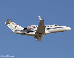 Prince Aviation Cessna 525 CitationJet YU-SCJ (birrlad) Tags: palma pmi international airport spain aircraft aviation airplane airplanes bizjet private passenger jet takeoff departure departing runway climbing yuscj cessna 525 citationjet c525 prince
