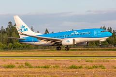 PH-BGI Boeing 737-7K2(WL) KLM Royal Dutch Airlines (Andreas Eriksson - VstPic) Tags: phbgi boeing 7377k2wl klm royal dutch airlines