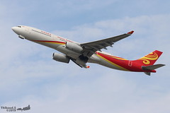 Airbus A330 -343 HAINAN AIRLINES B-5972 1634 Bruxelles aout 2019 (Thibaud.S.) Tags: airbus a330 343 hainan airlines b5972 1634 bruxelles aout 2019
