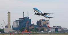 IMGP4074 (mattbuck4950) Tags: england unitedkingdom europe june aeroplanes airports londonboroughofnewham londoncityairport universityofeastlondon camerapentaxk70 lenssigma18300mm 2019 phezc klm mybirthday2019