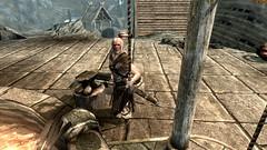 Eorlund Gray-Mane - TESV_2018_11_24_10_42_46_886 (Borgakh gra Khazgur) Tags: eorlundgraymane skyforge theskyforge blacksmith skyrim whiterun anvil npc