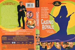 """USA sorta vintage DVD cover for James Bond 007 spoof """"Casino Royale"""" (1967) - """"Funny 'n' Cunningly Linguistic"""" (moreska) Tags: usa vintage dvd cover art retro 007 james bond casinoroyale 1967 spoof iconic wacky gun starbox digital media 60s bubblegum colors bright cheery region 1 2000s collectibles archive us north america cunninglinguist"""