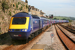 43165 and 43179 Penzance 8 Sept 2012 (Russell Saxton) Tags: russellsaxton rail railway 2012 gwr penzance hst cornwall
